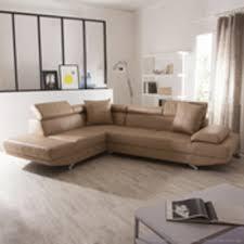 canapé d angle cuir beige canape d angle 5 places cuir dans canapé achetez au meilleur prix