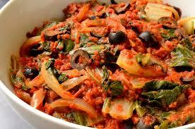 cuisiner les bettes bettes à la tomate ma cuisine santé
