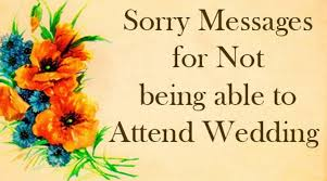 wedding wishes not attending sorry message attend wedding jpg