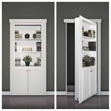 cabinet hidden door kits fulfill a childhood dream with hidden