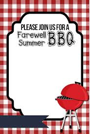 17 barbecue invitation templates free download images summer bbq