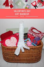 Valentine S Day Gift Baskets Valentines Day Gift Basket Child Roseyhome