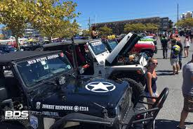 zombie response jeep bds spends the week at the beach for the oc jeep week bds