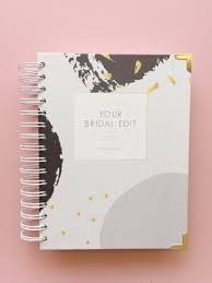 wedding planner notebook your bridal edit the ultimate wedding planner
