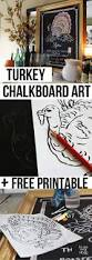 thanksgiving chalkboard art 16 super smart last minute turkey inspired decor and crafts for