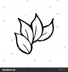 simple black white line drawing cartoon stock vector 323044274