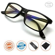 magnifying eyeglasses with light as seen on tv amazon com j s vision reading glasses with anti blue light function