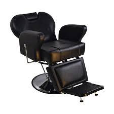 Reclining Salon Chairs Barberpub Hydraulic Recline Black Hair Salon Chair Free Shipping