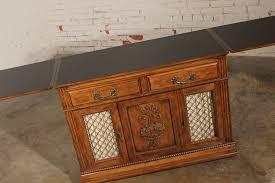 davis cabinet company dining room table davis cabinet company server or dry bar