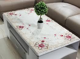 Brilliant Elegant Coffee Table Covers Regarding Motivate Cover