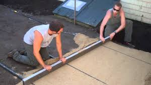 How To Build A Patio by How To Build A Patio Part Two Youtube