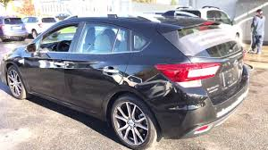 2017 subaru impreza hatchback black 2017 subaru impreza real first look inside and out youtube
