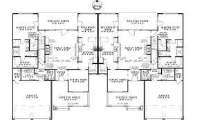 high end home plans ensenada luxury duplex home plan 055d 0888 house plans and more