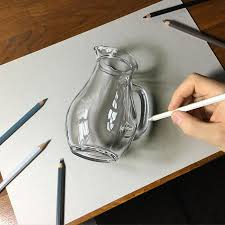 hyper realistic illustrations by marcello barenghi glass