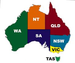 states australia map best of diagram australia state map throughout roundtripticket me