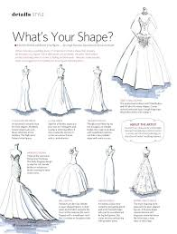 wedding dress guide find the wedding dress shape that is right for your http