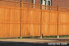 cost to install a fence fencing prices