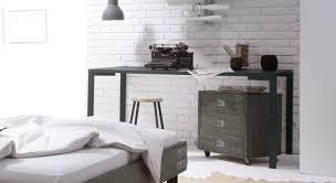 Schreibtisch Simpel Schreibtisch Mit Metallgestell Z B In Weiß Felipe