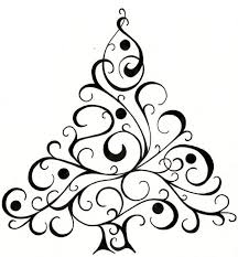coloring pages engaging christmas tree drawing graphic stock art