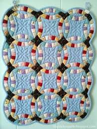 double wedding ring quilt template free this pattern is a little