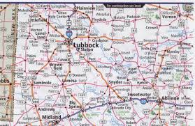 Texas Highway Map North Texas Road Map