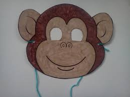 Paper Plate Monkey Craft - the weekly craft monkey mask