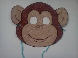 the weekly craft monkey mask