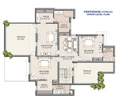 floor plans house baby nursery floor plan of residential house perspective floor