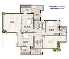 floor plans house baby nursery floor plan of residential house perspective floor