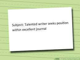 4 ways to start a cover letter wikihow