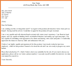 cover letter for legal assistant entry level cover letter example