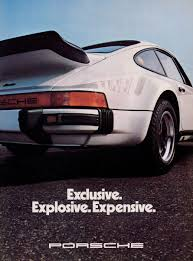 porsche 911 poster historic advertising posters production anniversary of the
