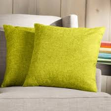 Yellow and Gold Throw Pillows You ll Love