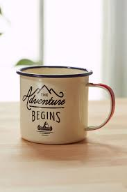 adventure begins enamelware mug urban outfitters urban and coffee