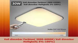 dimmbare led deckenlampe natsen moderne led deckenlampe wandlampe deckenleuchte silber