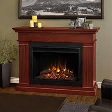 real flame kennedy 56 in grand series electric fireplace in dark