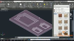 how to design door of home interior in autocad 3d smart tutorial