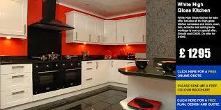 white gloss kitchen doors cheap white high gloss kitchen cheap kitchens kitchen units