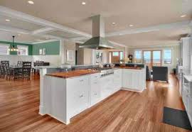 l shaped island kitchen great room with l shaped island decorating ideas for a