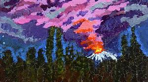 Wildfires In Bc July 2014 by B C Wildfires And A Wild Fire Painting From The Alleys Sqwabb
