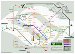 Metro North Route Map by Singapore Mrt System Map U2013 Looking Into The Future Information