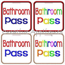 bathroom pass ideas amusing 60 school bathroom passes inspiration of bathroom school