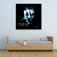 batman joker quote 1 square wall art 0 batman joker quote 1 square wall art