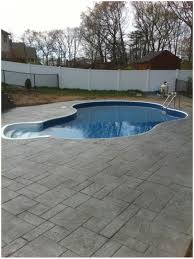 Stamped Concrete Patio Prices by Backyards Awesome 400 Sq Ft Concrete Patio Extension 18 Backyard