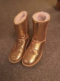 womens size 9 ugg boots ebay gold sparkle uggs boots ebay