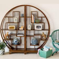 Oak Revolving Bookcase Circular Bookcase Ira Design