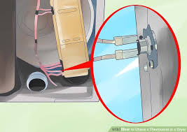 how to check a thermostat in a dryer 5 steps with pictures