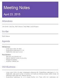 8 free sample meeting minutes templates u2013 openoffice writer templates