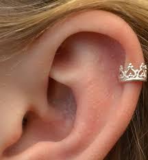 ear cuff piercing helix piercing piercing magazine