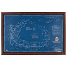 Fenway Map Steiner Sports Framed 20